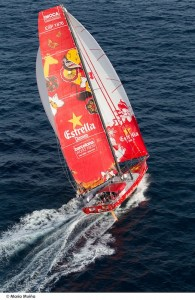 L'Estrella Damm. Copyright Maria Muiña / Barcelona World Race