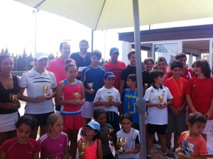 Primers classificats al Trofeu de Tennis Benissa